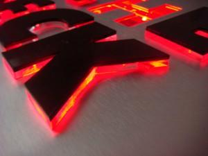 световые объемные буквы киев цена